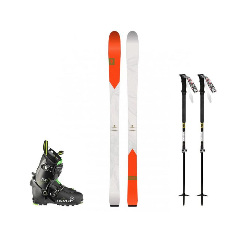 Zestaw Skiturowy Adventure Narty Buty Foki Kije 5 Szkola Gorska